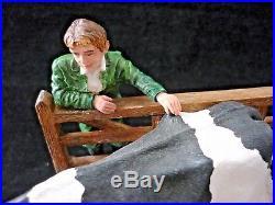 2006 Border Fine Arts Limited Edition Farm Figurine Signed Hans 242/600