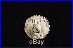 2016 Beatrix Potter Peter Rabbit 50p Coin