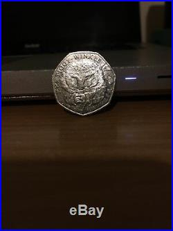 2016 Rare 50p COIN MRS TIGGY-WINKLE Beatrix Potter Fifty Pence RARE