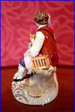 Antique German'Sitzendorf' Porcelain Figurine'Lovers