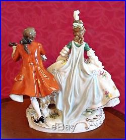Antique Large Very Rare German Porcelain Figurine