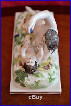 Antique Very Rare Royal Vienna Porcelain Figurine
