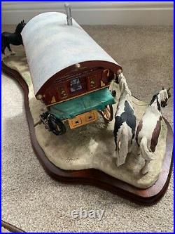 Appleby Horse Fair Ornament Border Fine Arts Striking A Deal Gypsy Wagon