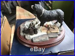 Auld Hemp Border Fine Arts B0360 Collie Dog Ornament