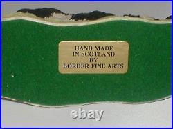 BORDER FINE ARTS, BORDER COLLIE. Mairi Laing Hunt. 1980, Original, Extremely Rare