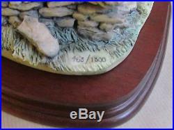 BORDER FINE ARTS FIGURES FORRARD AWAY L64 E. WAUGH LTD ED 463/1500 (Ref4149)
