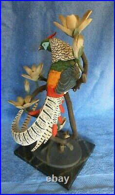 BORDER FINE ARTS LADY AMHERST'S PHEASANT Limited Edition 48/950