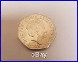 Beatrix Potter 2016 50p coin Mrs Tiggy Winkle RARE