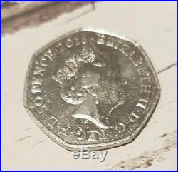 Beatrix Potter 50P anniversary coin 2016, Rare, Collectable, excellent condition