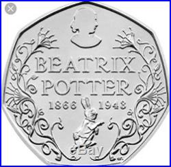 Beatrix Potter 50p Peter Rabbit 2016