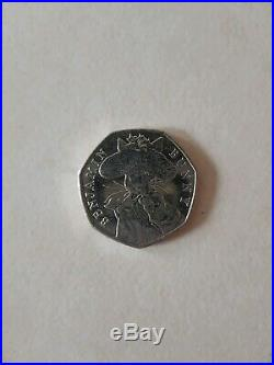 Beatrix Potter Benjamin Bunny 50p 2017 coin