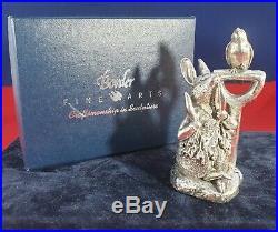 Beatrix Potter Border Fine Arts Silver Peter Rabbit Figurine Sbp01