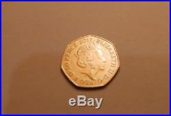 Beatrix Potter Peter Rabbit 50p coin 2017