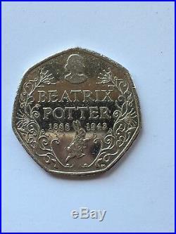 Beatrix potter 50p 2016