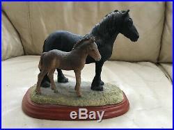 Beautiful Border Fine Arts Dales Mare & Foal