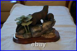 Border Arts Keeping Close B0795 Limited Edition early number 148 of 1750