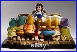 Border Disney Snow White Seven Dwarfs Moment In Time Limited Figurine B1567 UK