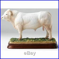 Border Fine Art Charolais Bull (B1075) Limited Edition