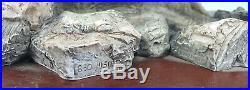Border Fine Art King of River Model No. A1480 On Wooden Plinth Ltd Ed -Damaged