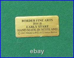Border Fine Arts An Early Start Model JH91B Hand Made in Scotland