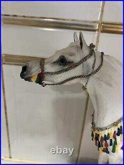 Border Fine Arts Arabian Arab Stallion Limited Edition 506/950 Equestrian Horse