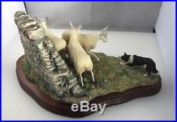 Border Fine Arts B0701 Ltd Edition Stand Off 336/1750. New And Boxed
