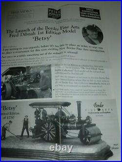 Border Fine Arts BETSY Fred Dibnah Steam Engine