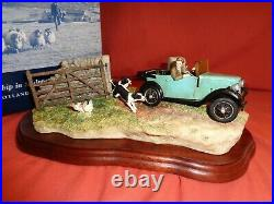 Border Fine Arts BFA The Chase By Ray Ares, Model B0444 Boxed