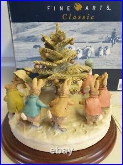 Border Fine Arts Beatrix Potter B0611- Christmas Tree Dance Limited Ed