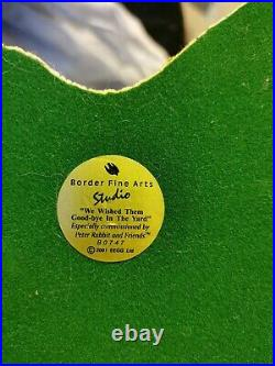 Border Fine Arts Beatrix Potter B0747 We Wished Them Goodbye In The Yard Limited