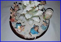 Border Fine Arts, Beatrix Potter Christmas Tree Dance Limited Edition Tableau