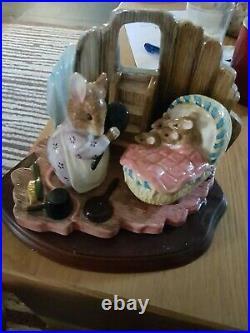 Border Fine Arts Beatrix Potter Classics Hunca Munca & The Babies Ltd Edi