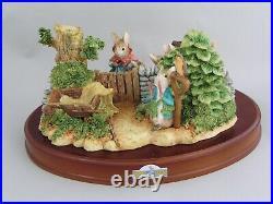 Border Fine Arts Beatrix Potter The Tale Of Peter Rabbit Tableau, A1306