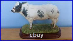 Border Fine Arts Belgian Blue Bull Style 1 Model No B0406 Ltd. Ed. 479/1250
