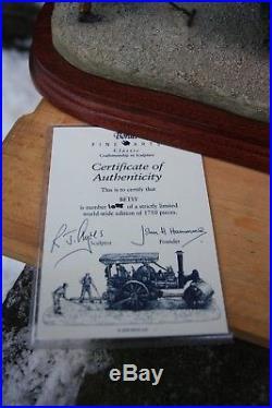 Border Fine Arts Betsy B0663 Steam Engine. Fred Dibnah. Box & Cert Ltd Edition