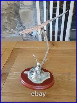 Border Fine Arts- Birds, Russell Willis Flying Kestrel- A1275