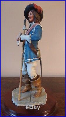 Border Fine Arts'Bluecoat Regiment Officer' Limited Edition Model No 103 Of 750