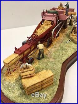Border Fine Arts Classic B0361 The Threshing Mill