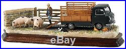 Border Fine Arts Classic Bringing Home Bacon Green Morris Vehicle Ayres B1451A