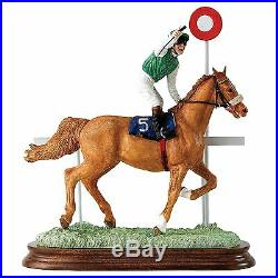 Border Fine Arts Classic Collection Winning Salute Chestnut Limited Edition 250