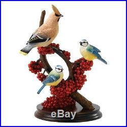 Border Fine Arts Classic Pecking Order B1539 Ltd Edition Jay & Blue tits