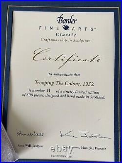 Border Fine Arts Classic Trooping The Colour, 1952 (LE 11/500)