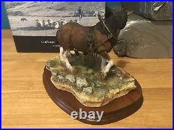 Border Fine Arts Cooling His Heels Ltd Ed. 099/1500 Harding Heavy Horse B0770