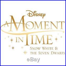 Border Fine Arts Disney A Moment in Time B1567 Snow White Seven Dwarfs LE 250