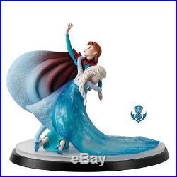 Border Fine Arts Disney A Moment in Time B1622 Elsa and Anna Frozen LE 350