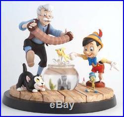 Border Fine Arts Disney a Moment in Time Pinocchio & Geppetto LE