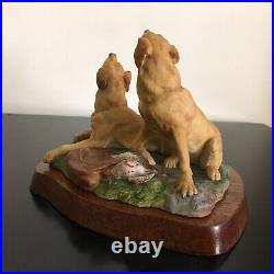 Border Fine Arts Dog rare, LABRADORS LE500 1977 Hayton