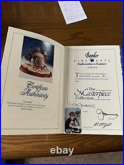 Border Fine Arts Duck Lenardo- Don Briddell- 52/350. Certificate And Receipt£350