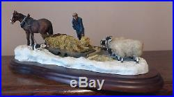Border Fine Arts Emergency Rations (Horse, Farmer and Sheep) Model No A2140