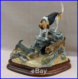Border Fine Arts Fell Hound & Terriers B0885 Ltd Edition 438